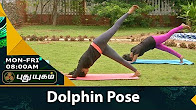 Dolphin Pose யோகா For Health 25-07-2017 PuthuYugam TV Show Online