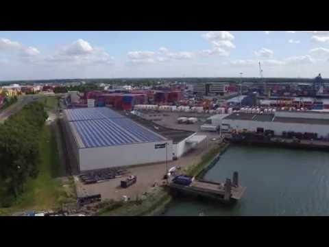 Largest solar panel system in Rotterdam