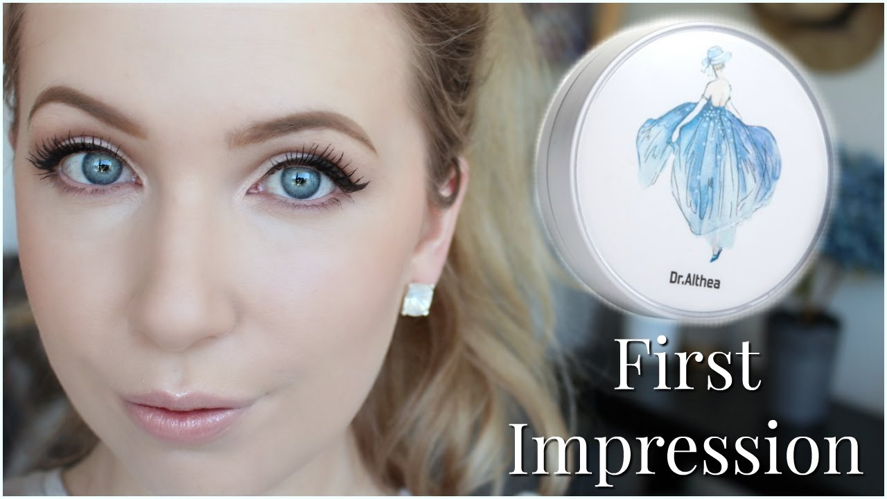 Bb Cream For Pale Skin Dr Althea Water Glow Cushion First Impression Review