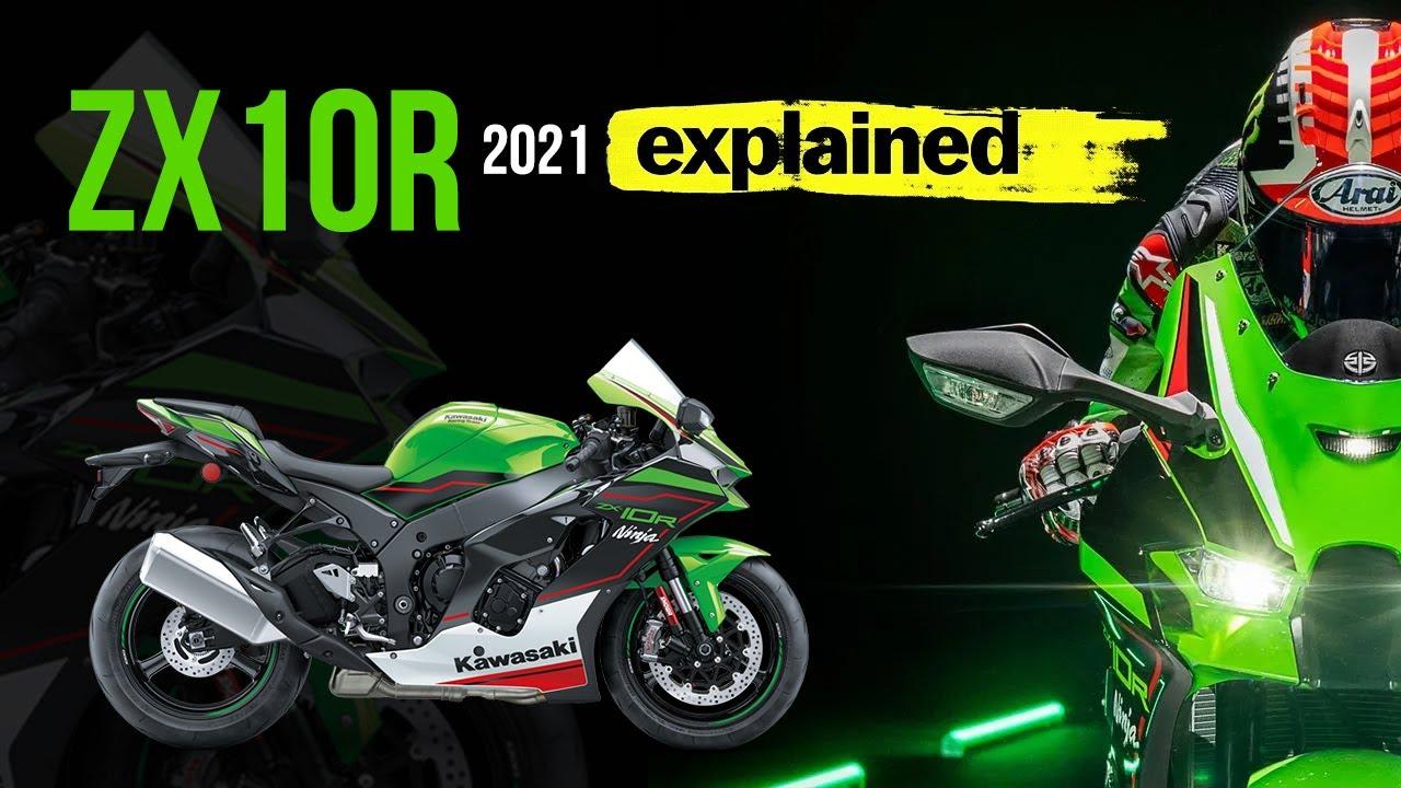 Kawasaki ZX10R 2021 surprised me 🎉 today !!