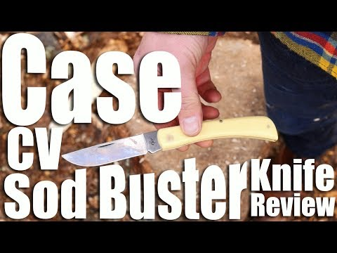 Case Sod Buster Pocket Knife Review.  The ultimate cheap made in USA Grandpa EDC