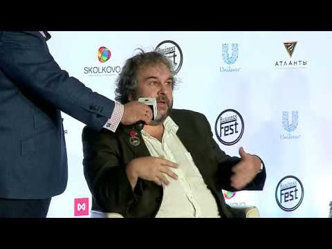Peter Jackson in Moscow School of Management SKOLKOVO