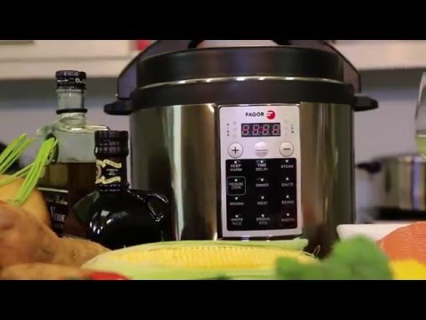 How To Use The Fagor Premium Pressure Cooker Youtube