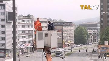 TALTV6 / Installation der 4. Livecam am Döppersberg