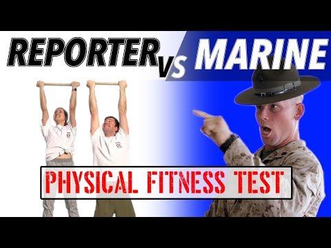 Reporter VS Marine: Physical Fitness Test