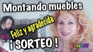 MONTANDO MUEBLES IKEA Y SORTEO  Vlog 367