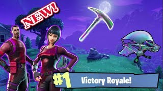 SEASON 3 / NEW SKINS AND PICK AXE [RADIENT/BRILLIANT STRIKER] GAMEPLAY (Fortnite Battle Royle)