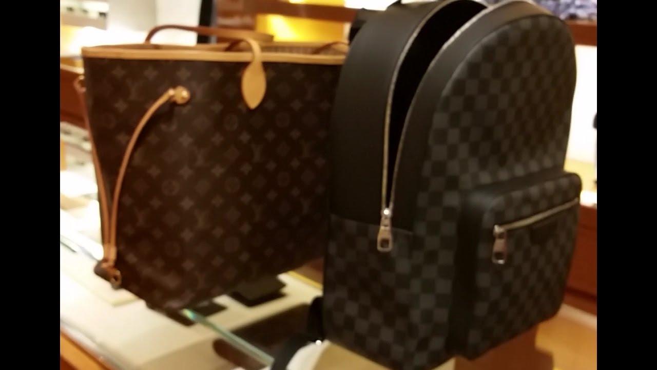 20522cb500a1 Louis vuitton Josh backpack - YouTube