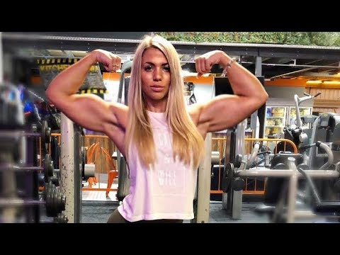 Iron Muscles Girl | Brittany Rhodes Workout | Female Bodybuilding Fbb