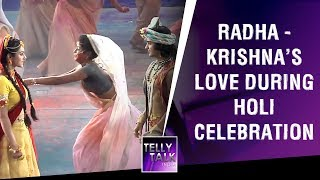 Radha Krishna's Love during Holi celebration | Radha Krishna