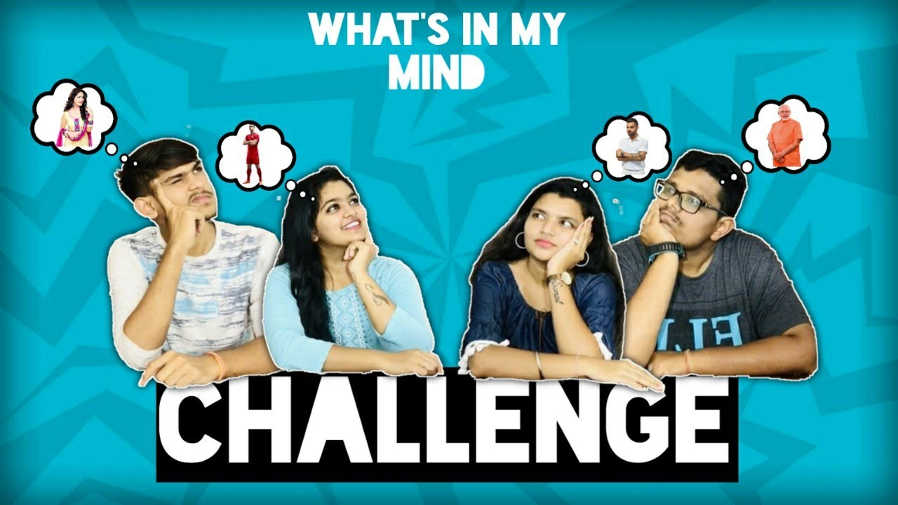 WHAT'S IN THE MIND CHALLENGE | By Challenging Vlogs |
