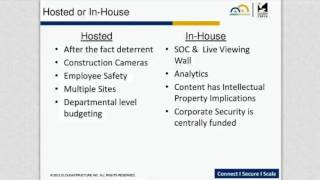 Types of Video Surveillance Security Systems