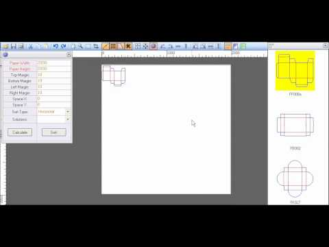 Packmage Carton Box Packaging Design Software Step And Repeat Youtube