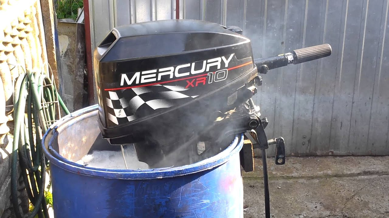Mercury xr 10 hp outboard motor 1998r 2 stroke dwusuw for 2 2 mercury outboard motor