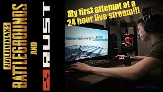 My first attempt at a 24 hour live stream! Pubg and Rust! 50,000+ bp crate opening - Part 2