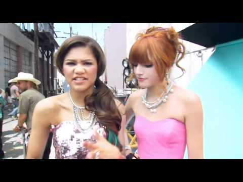 Bella Thorne & Zendaya | Shake It Up: Watch Me Music Video BTS | Disney Playlist