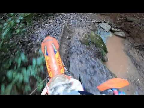 KTM tpi test ride,hard enduro training 2018 Gopro hero 6 jonny walker