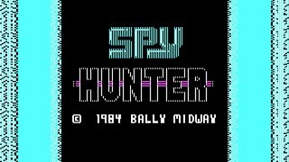 Spy Hunter gameplay (PC Game, 1984)