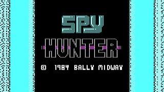 Spy Hunter gameplay (PC Game, 1984)