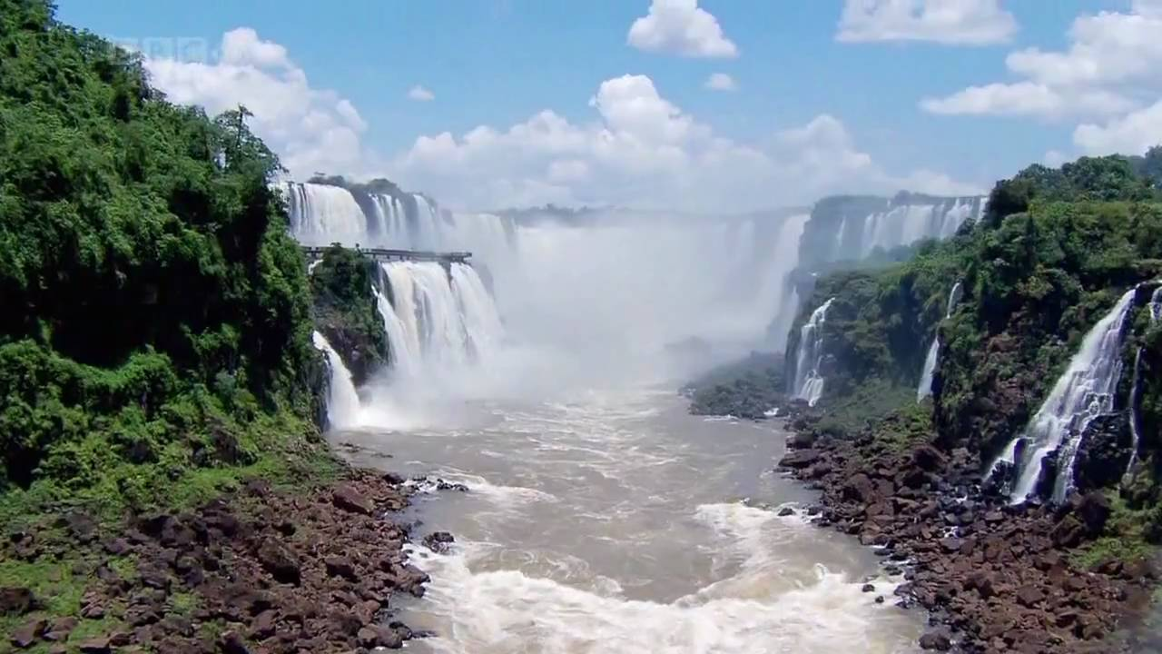 Niagara Falls Wallpaper Nature Iguazu Falls Hd Youtube