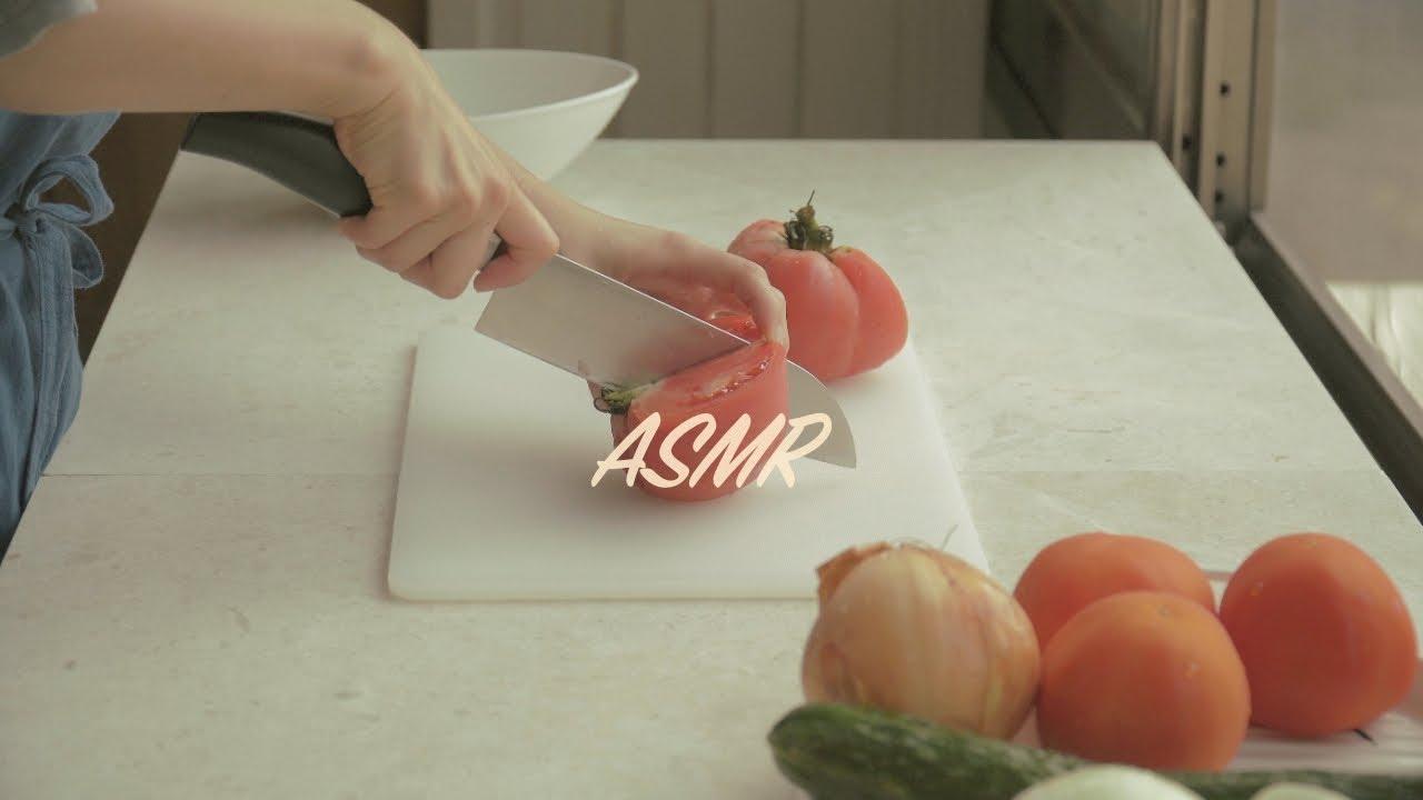 ASMR  Cooking Sounds 마음이 편안해지는 시골 주방 소리 - 데라세르나