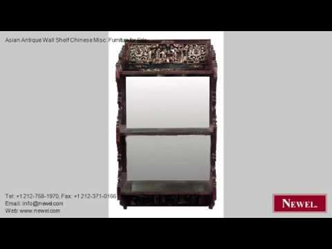 Asian Antique Wall Shelf Chinese Misc. Furniture for Sale
