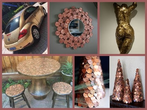 Recycled Penny Craft Ideas - Amazing Penny Arts and Crafts