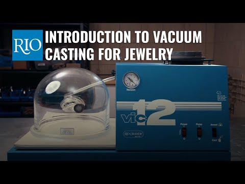 Introduction To Vacuum Casting For Jewelry