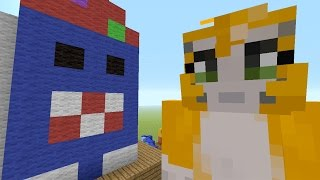 Minecraft Xbox - Building Time - Birthday Party {19}