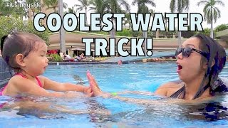 COOLEST WATER TRICK!!! - October 20, 2014 - itsJudysLife Daily Vlog