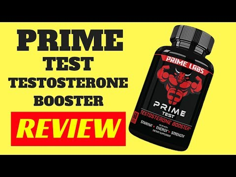 prime test testosterone booster supplement review