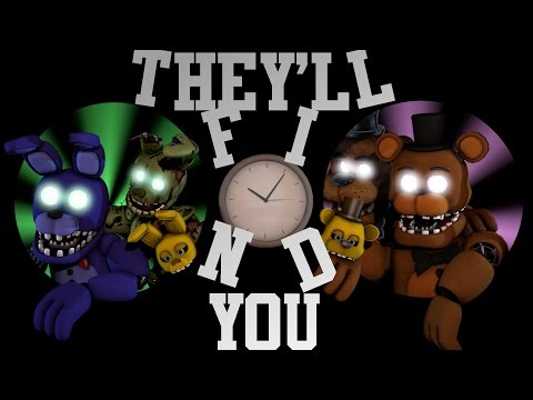 [FNAF SFM] They'll find you by Griffilina