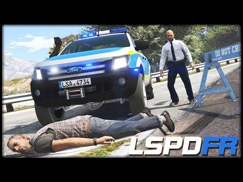 GTA 5 LSPD:FR #302 | Tote am Straßenrand - Deutsch - Grand Theft Auto 5 LSPDFR