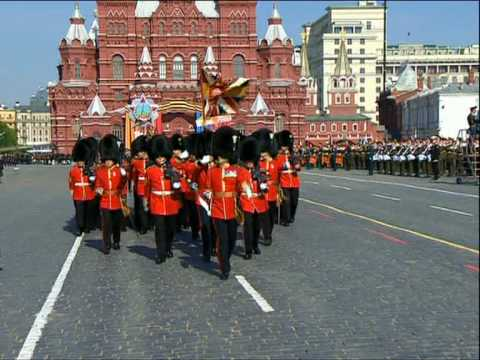 Foreign contingents join victory parade in Moscow (by RT)