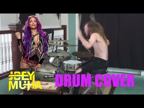 Sasha Banks Diva Theme DRUM COVER - JOEY MUHA