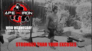 Week 4 WOD Wednesday | Lower Body Stability