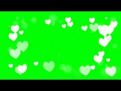 Heart Flying Green Screen Overlay Effect For Whatsapp Status Video