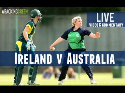Ireland v Australia: 2nd T20I LIVE!