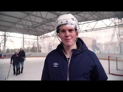 хоккей в валенках среди студентов г. Новомосковск
