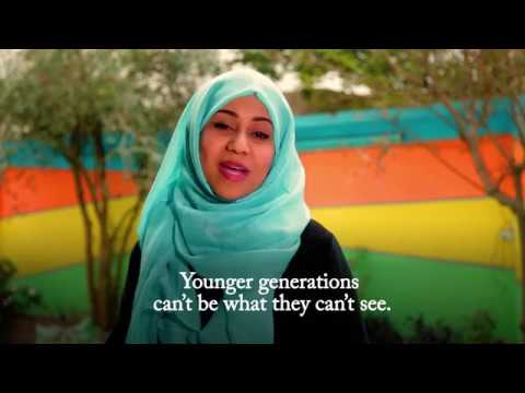 Yemeni women working in the media share their messages for gender equality