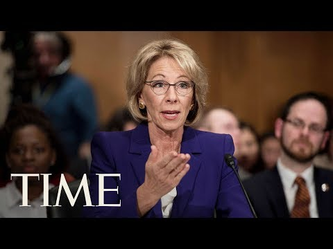 Betsy DeVos Testifies Before Senate Subcommittee About Education Department
