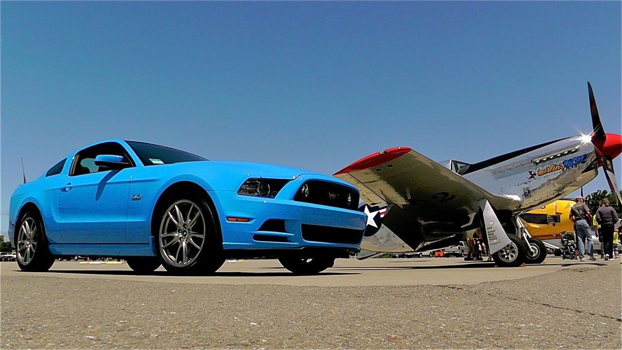 2013 ford mustang gt and p 51 mustang