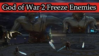 God of War 2 Freeze Enemies Hacked (Part 1)