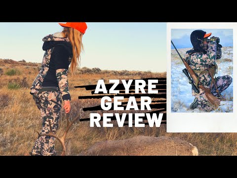 Azyre Gear Review: New And Best Women's Hunting Camo