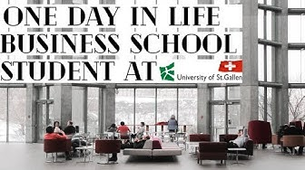Day in Life of a Business School student | University of St. Gallen (HSG)