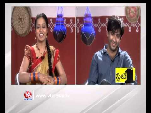 Ravi RJ & VJ With Teenmaar Racha Ramulamma