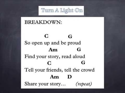 Turn A Light On lyrics and chords