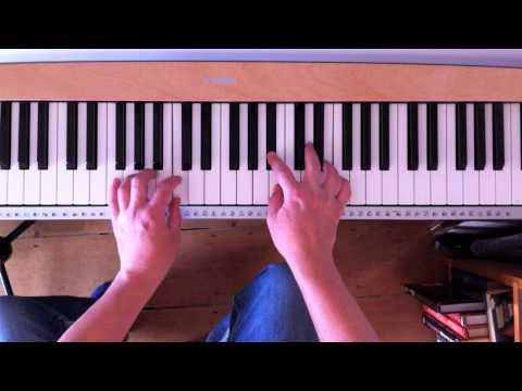 Hammond organ improvisation technique
