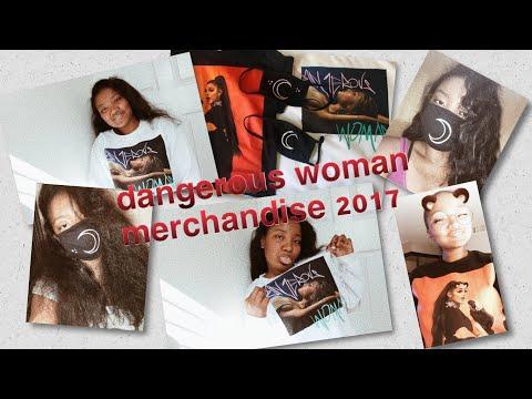 My Dangerous Woman Tour Merchandise 2017   Kiana Nyasia