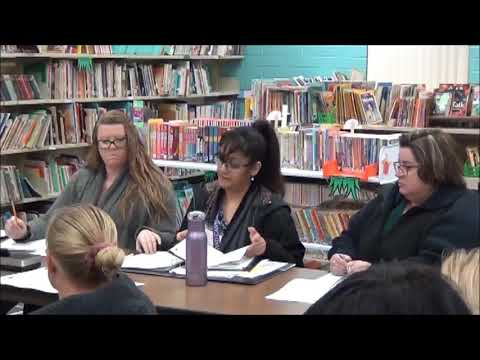 Quartzsite Elementary Schools board meeting 1-13-2020 replacement of two buildings at Q ES - Funding